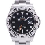 ROLEX Rolex Explorer 2 EX2 216570 Men's SS watch self-winding dial