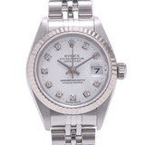 ROLEX Rolex Datejust 10P Diamond 79174G Ladies WS / SS Watch Automatic Dial