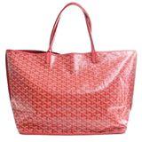 GOYARD Goyard Anju GM Reversible Tote Bag Red PVC Leather