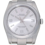 Rolex Oyster Perpetual K No. 2001 Men's Watch 116000 Stainless Steel Silver Dial
