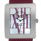 Franck Muller Infinity Alonger Ladies Watch 3740QZ RAL Stainless Steel White Shell Dial