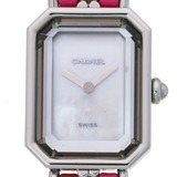 Chanel Premiere Rock Ladies Watch H6360 Stainless Steel White Shell Dial