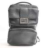 FENDI Fendi Celeria leather backpack black