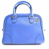 LOEWE Loewe Leather Amazona 75 2WAY Handbag Blue
