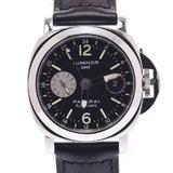 OFFICINE PANERAI Luminor GMT PAM00088 Men's SS / leather watch self-winding dial