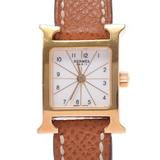 HERMES Hermes Ramsis HH1.101 Ladies GP / Leather Watch Quartz Dial