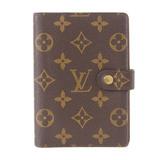 Louis Vuitton LOUIS VUITTON Monogram Agenda PM Notebook Cover R20005