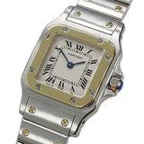 Cartier Watch W20012C4 Santos Galve SM Quartz Ladies Polished