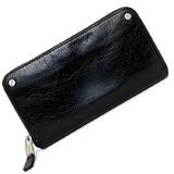 Balenciaga Black Classic 541996 Leather BALENCIAGA Wallet Men's