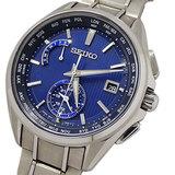 Seiko SEIKO Watch 8B63-0AV0 SAGA285 Brights Solar Radio Titanium Men's