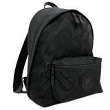Burberry Rucksack Black BT Monogram 8030714 Backpack Nylon Canvas Leather BURBERRY Men's Women's