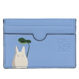 Loewe My Neighbor Totoro Collaboration Card Case Ghibli Leather Blue 0027LOEWE