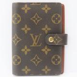 Louis Vuitton Notebook Cover LOUIS VUITTON Agenda PM R20005 Monogram IA-10569