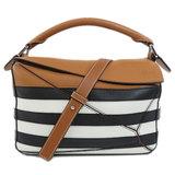 Loewe 2WAY Puzzle Bag Handbag Calf Ladies