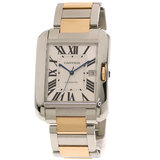 Cartier W5310006 Tank Anglaise LM Watch Stainless Steel K18PG Men