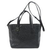 Salvatore Ferragamo Motif 2WAY Tote Bag Leather Ladies