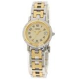 Hermes CL4.220 Clipper Watch Stainless Steel GP Ladies