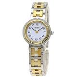 Hermes Clipper Old Watch Stainless Steel GP Ladies