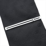 Gucci Silver 925 Tie Pin Silver Tie bar knot detail
