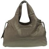 Salvatore Ferragamo Ferragamo Salvatore Tote Bag Leather Dark Gold