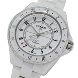 Chanel CHANEL Watch H2126 J12 GMT 42mm Ceramic White Automatic AT Date Men's Polished