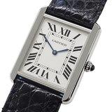 Cartier Watch W5200003 Tank Solo LM Square Quartz Men's Polished