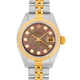 Rolex ROLEX Datejust 79173NG YG x SS P Ladies Watch Automatic Shell Dial