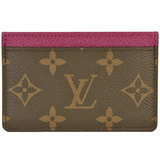 Louis Vuitton  Card Case Fuchsia,Monogram