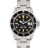 Rolex ROLEX Submariner Date 1680 SS 39th Men's Watch Self-winding Black Dial Borderless