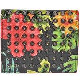 Christian Louboutin Paros Flower Bi-Fold Wallet with Coin Purse Studs 1165161