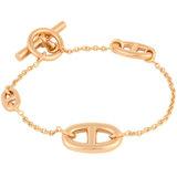Hermes HERMES Chene Dunkle Farandall Bracelet K18PG