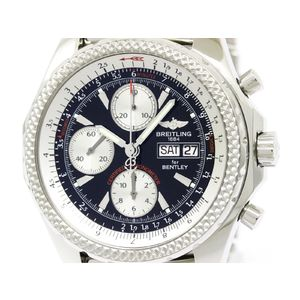 BREITLING Bentley GT Steel Automatic Mens Watch A13362