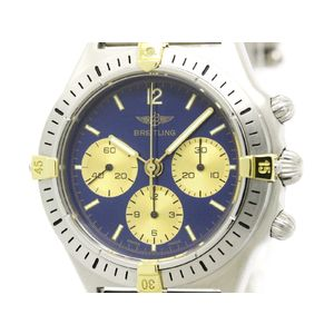 BREITLING Callisto 18K Gold Steel Automatic Mens Watch 80520