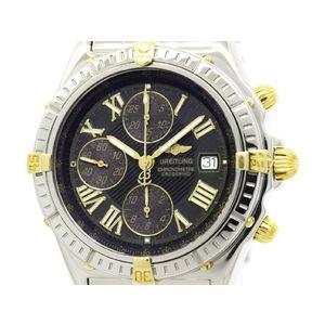 BREITLING ブライトリング クロスウィンド ビコロ K18 ゴールド ステンレススチール 自動巻き メンズ 時計