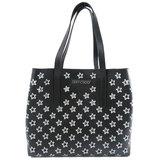 Jimmy Choo Star Motif Tote Bag Leather Women's