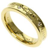 Tiffany 1837 2P Diamond Ring / K18 Yellow Gold Ladies TIFFANY & Co.