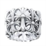 Chrome Hearts Cemetery Ring Silver 925 Ring
