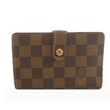 Auth Louis Vuitton Damier Portefeuille Viennois M61674 Women's  Wallet