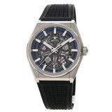 Zenith 95.9000.670 / 78.R584 Defy Classic Watch Titanium Rubber Men's ZENITH