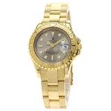 Rolex 69628 Yacht Master Watch K18 Yellow Gold / K18YG Ladies ROLEX