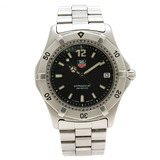 TAG Heuer Professional 200 Series Black Dial Men's QZ Quartz Watch WK1110