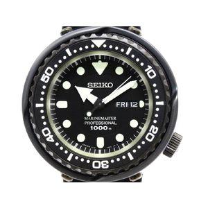 SEIKO セイコー プロスペックス マリーンマスター SBBN025 ステンレススチール ラバー クォーツ メンズ 時計