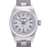 ROLEX Rolex Oyster Perpetual 67180 Ladies SS Watch Automatic White Roman Dial