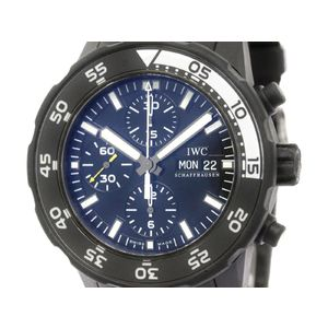 IWC Aquatimer Galapagos Island Steel Automatic Mens Watch IW376705