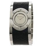 Gucci YA112 Twirl Bangle Watch Stainless Steel / SS Ladies GUCCI