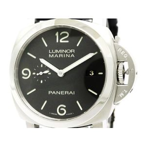 PANERAI パネライ ルミノール マリーナ 1950 3デイズ ステンレススチール レザー 自動巻き メンズ 時計