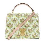 Tory Burch Flower Motif 2WAY Handbag Leather Ladies