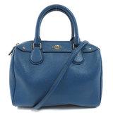 Coach F57521 Bennett Mini Satchel 2WAY Handbag Leather Ladies COACH