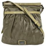 Burberry Shoulder Bag Khaki Nylon Leather BURBERRY Ladies Crossbody Plate