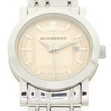 Burberry Heritage Ladies Watch BU1353 Stainless Steel Pink Dial